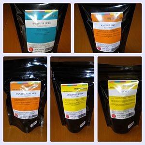5 verschiedene Nusssorten