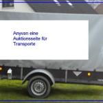 Transporte, Lieferungen und Kurierdienste werden auf Plattform Anyvan angeboten.