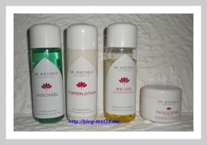 Kosmetikprodukte von Dr. Biechele