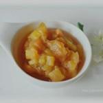 Nachtisch aus Rhabarber