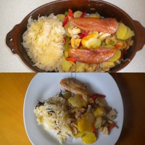 Mischkost Mahlzeit